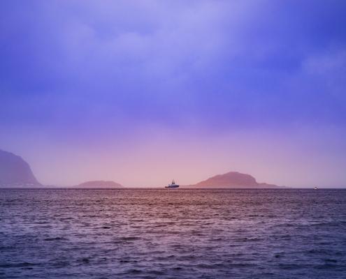 océan et bateau