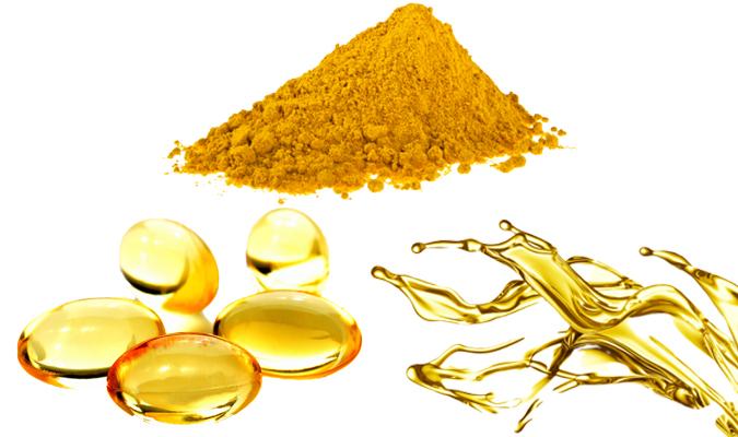 huiles, capsules et poudres de poisson seanova